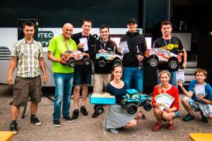 Zábava pro rally závodníky před Agrotec rally s traktory i závoďáky