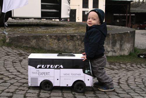 """Jak VDL mini autobus zpestřil """"autobusovou akci"""""""