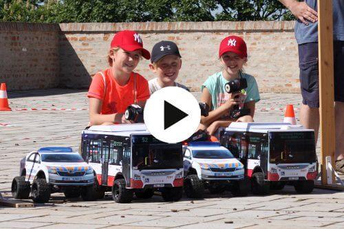 Akční zábava s RC Auta Event pro Dopravní podnik města Brna