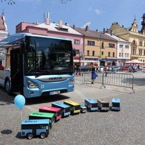 Autobusy v plné své kráse