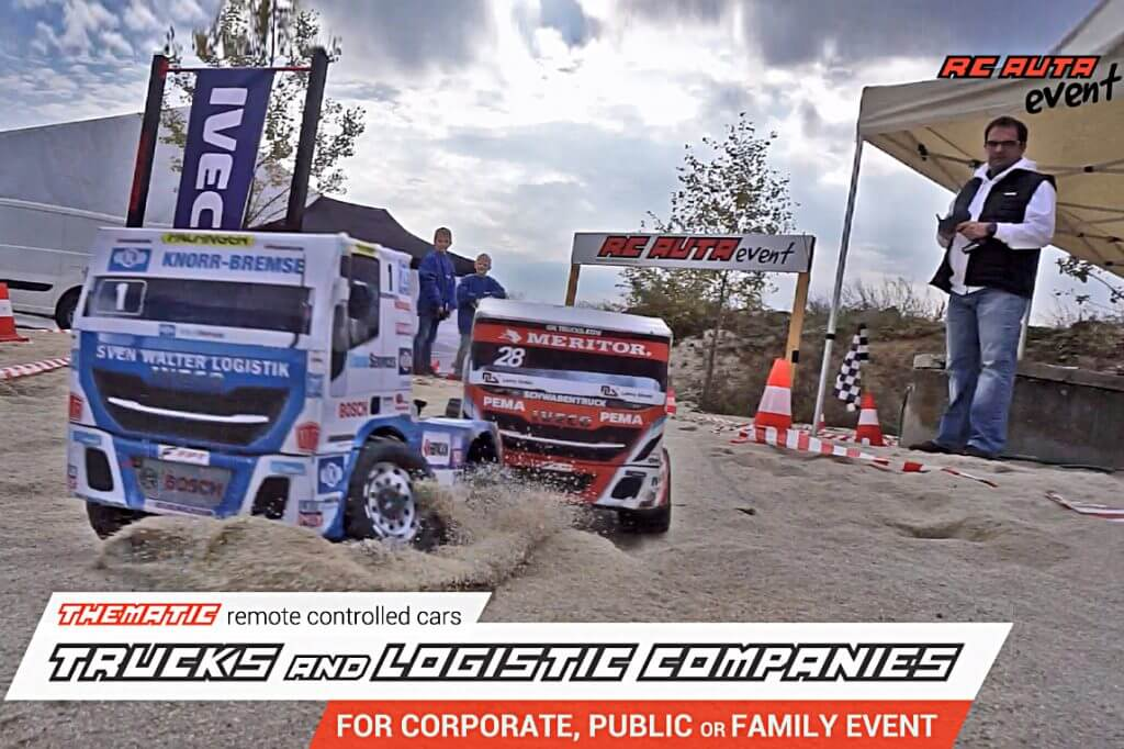 Best Off! remote controlled models – Theme: Trucks and logistics companies